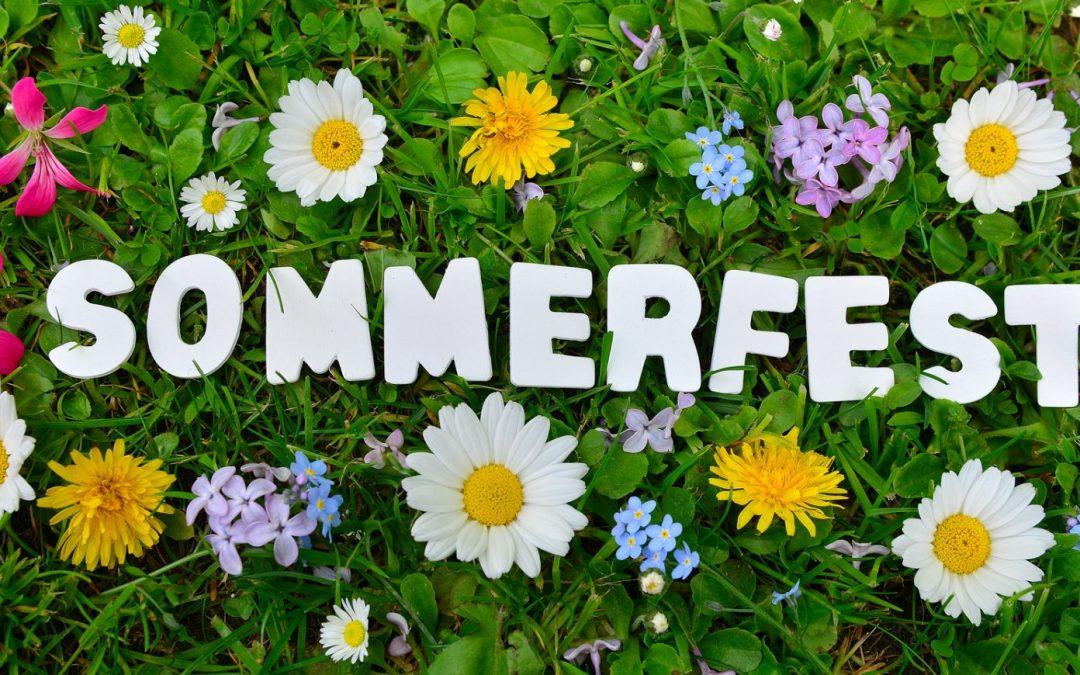 Einladung zum Sommerfest 2020